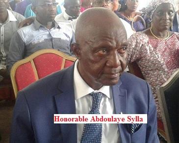 Communiqué de l'UFR / Décès de l'honorable Abdoulaye SYLLA, Député Uninominal de Boké, Vice-président du Groupe Parlementaire Alliance Républicaine.