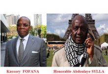 Plainte Contre le député UFR de BOKE / Kassory Fofana, une nouvelle fois victime de ses lacunes. On ne peut poursuivre un député à l'occasion des opinions ou des votes émis par lui dans l'exercice de ses fonctions de député (article 65 de la constitution).
