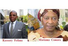 Le premier ministre guinéen Kassory Fofana et la ministre de l'agriculture Mariama Camara cités dans une affaire de corruption devant la justice  Belge.( Il demandait la preuve de sa corruption au député de Boké, la justice Belge va peut-être la lui apportée)