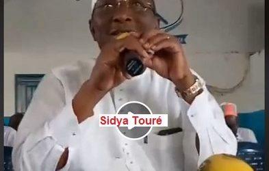 (DIDEO)  AG de l'UFR du 21 juillet 2018 / Sidya Touré s'est exprimé sur la restructuration de l'UFR, sur les fraudes électorales dont son parti a été victime lors des communales et sur la gestion calamiteuse de la Guinée
