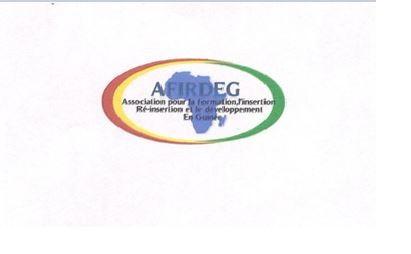 Communiqué de l'Association pour la formation, l'insertion et la réinsertion pour le développent de la Guinée(AFRIDEG) à l'attention des ONG guinéennes