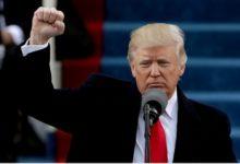 (VIDEO) La panique de Donald TRUMP en plein discours après avoir entendu une personne crier  allahou akbar