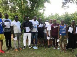 Grande mobilisation de la jeunesse guinéenne de Limoges (France) pour l'UFR