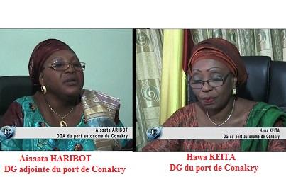 (VIDEO) Port de Conakry / La directrice du port autonome de Conakry et son adjointe se renvoient la balle quant à la responsabilité de la signature du fameux contrat Turc. Quand les nominations d'Alpha Condé couvrent le peuple de Honte !