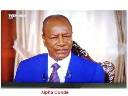 La chute du président Alpha Condé est justifiée.