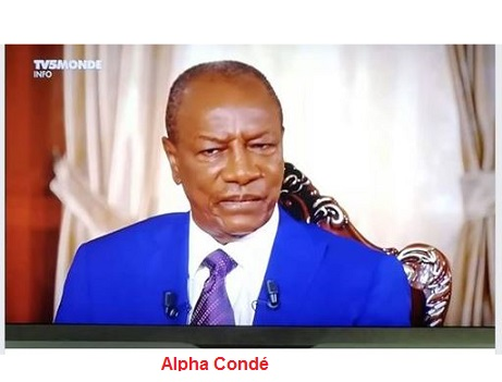 (VIDEO) L'intervention honteuse du président Alpha Condé  sur TV5 ce 30 septembre 2018 /  un enfant de 11 ans aurait mieux fait ! L'honneur de la Guinée est jeté aux chiens !