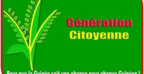GUINEE / Lettre de démission de la Génération Citoyenne (GéCi ) de la majorité présidentielle.