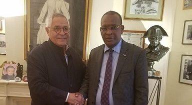 Suite à sa rencontre avec l'avocat Robert Bourgi, le général Sékouba Konaté livre un message aux guinéens(Source: Visionguinee.info)