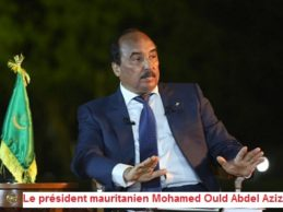 Mauritanie: le président déclare ne pas vouloir changer la Constitution.  Le chef de l'Etat assure qu'il ne sera pas candidat en avril prochain.