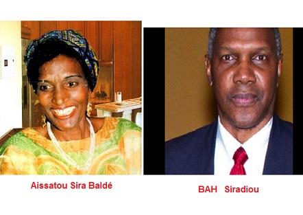 Cérémonie Hommage à :  Aïssatou Sira Baldé   Ecrivaine, Thierno Siradiou Bah  Ecrivain, Abdoul Baghi Bah, fonctionnaire et  Hadj Tidiane Bah  à paris le 14 octobre 2018