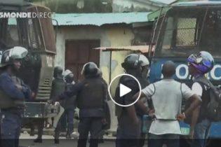 VIDEO GUINEE / Violente répression des manifestants ( TV5 Monde)