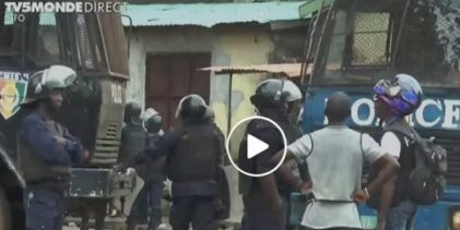 VIDEO GUINEE / Violente répression des manifestants ( TV5 Monde)