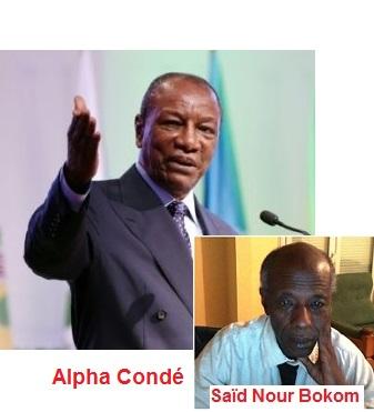 GUINEE / Hommage à Alpha Condé ou à Kenema? Je relève des énormités dans cet hommage que mon ami et jeune frère Aboubacar Sako rend à feu Kenema (Saïdou Nour Bokoum).