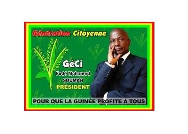 LETTRE OUVERTE A LA DIASPORA GUINEENNE (Fodé Mohamed Soumah Président de la Génération Citoyenne « GéCi »)