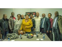 CODITOGO – Conférence de presse du 27.12.18 de la Coalition de la diaspora togolaise pour l'alternance et la démocratie