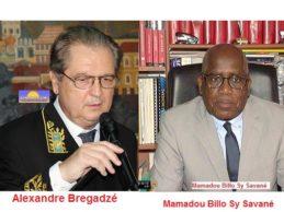 Monsieur Alexandre Brigand'zé, Ambassadeur de l'Oligarque en Chef, Monsieur Vladimir POUTINE auprès de M. Alpha CONDÉ, empereur des mines, le pion principal de l'oligarchie poutinienne dans cette région (Mamadou Sy Savané)