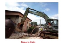FONDATION KARAMOKO ALFA DU TIMBO-FRANCE / Appel à l'aide aux victimes de la casse de Kaporo-rails