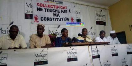 Une nouvelle Constitution ? Des anciens membres du CNT s'y opposent fermement( source: guineemation.com)