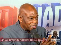 (VIDEO) Le déshorable Amamadou Damaro Camara baigné dans ses mensonges sur Espace FM par le procureur KABA