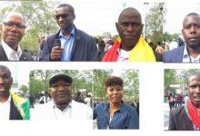 (VIDEO) Quelques avis des Manifestants Guinéens de France contre le 3e mandat d'Alpha Condé.