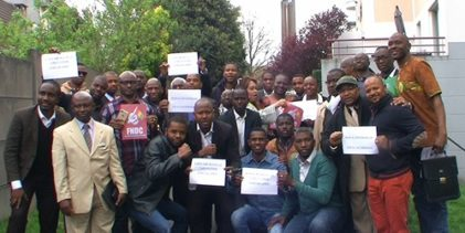PARIS / Manifestation des forces vives guinéennes d'Europe le dimanche 21 avril 2019. La mobilisation de tous les patriotes est sollicitée.