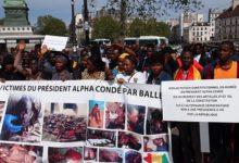 (VIDEO) La Grande manifestation des Guinéens de France du 21 avril 2019 contre le 3e mandat d'Alpha Condé.