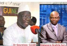 Non Dr Goureissy Condé, aucun article de la  constitution ne permet au président de la République de prendre l'initiative d'adoption d'une nouvelle constitution. Quels sont les articles qui fondent vos affirmations ? (MAKANERA  Ibrahima Sory)