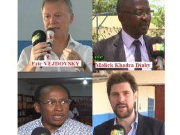 ESCG Conakry / Conférence sur le leadership animée par les experts de l'Ecole Supérieure de Commerce et de Gestion ESCG Conakry- Victor Hugo en présence des chefs d'entreprises, des DRH et des étudiants.