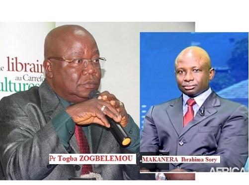 GUINEE / Non  professeur  ZOGBLEMOU, l'article  51 de la Constitution ne permet pas au président Alpha Condé de soumettre l'adoption d'une nouvelle constitution au référendum !  ( MAKANERA Ibrahima Sory )