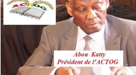 GUINEE / COMMUNIQUE DE  l'ACTOG, SUR SES INQUIETUDES AU SUJET DE LA REVISON EVENTUELLE de la CONSTITUTION EN GUINEE