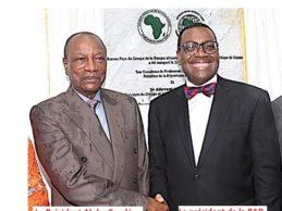 Les raisons inavouées de la visite du président de la BAD en Guinée/ Le président guinéen et le président de la BAD sont tous deux en campagne électorale et ont besoin l'un de l'autre !