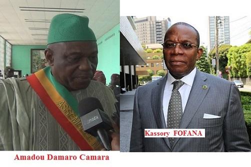Les signes annonciateurs de la fin du régime d'Alpha Condé : Kassory Fofana chercherait à s'allier à Cellou Dalein Diallo et Amadou Damaro Camara aurait créé son parti politique en catimini et à l'insu d'Alpha Condé !