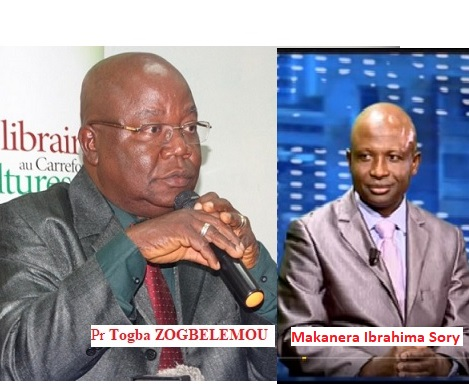 Le professeur Togba Zogbélémou et l'article 51 de la constitution ! Nous demandons au président Alpha Condé de le nommer au poste promis afin qu'il arrête de désinformer les Guinéens.( MAKANERA Ibrahima Sory)
