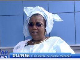 (VIDEO) Doussou Conde persiste et signe » C'est Dr Diane le Ministre de la Defense qui est derriere la Convocation du Lynx et non le Pr Alpha Conde