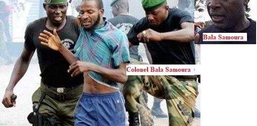 GUINEE / Le Colonel Bala Samoura serait impliqué dans les massacres du 28 septembre 2009 photo à l'appui, et il serait instruit par Mohamed Diané de coordonner une partie des répressions des manifestants le lundi 14 octobre 2019 à Conakry.