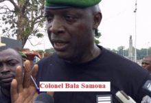 Urgent communiqué des Forces vives-FNDC France/ Nous recherchons la famille du Colonel Bala Samoura qui serait dans une des banlieues parisiennes.