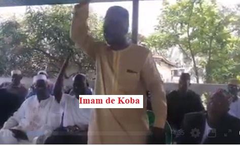GUINEE / Alpha Condé sévèrement mis en garde et Kassory Fofana fustigé par l'imam de Koba.