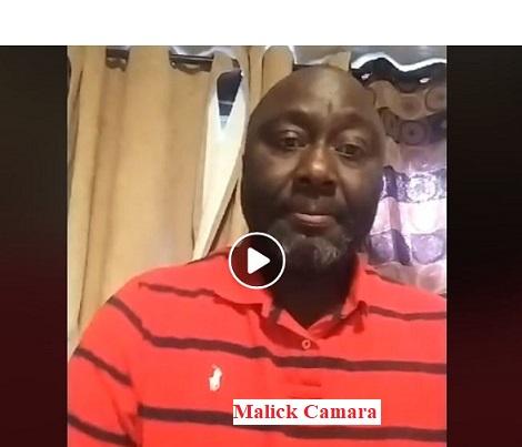 Urgent / Graves révélations de Malick Camara sur les arrestations et le projet d'une imminente exécution des militaires sousssous qui ont refusé de soutenir le troisième mandat d'Alpha Conté en refusant de réprimer les manifestants ! Il accuse Kassory Fofana, Baidy Aribot, Malick Sankhon, Kiridy Bangoura et le Colonel Bafoé de complicité.