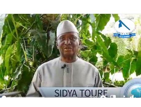 (VIDEO) La réaction de monsieur Sidya Touré suite à la manifestation des partisans du pouvoir.