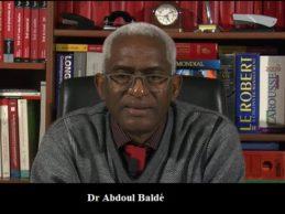 (VIDEO) Dr Abdoul Baldé s'exprime sur les massacres des manifestants et arrestations de militaires et les législatives prochaines.