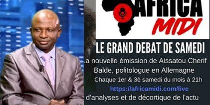 GUINEE / Ibrahima Sory Makanera, invité de Africamidi ce samedi 28/12/2019 à 21h