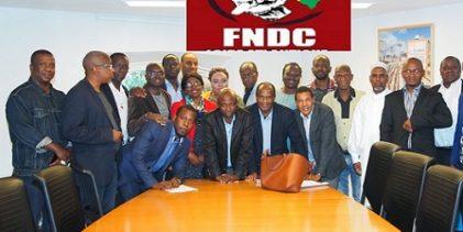 Lettre ouverte à la Coordination nationale du FNDC / Objet: Départ immédiat d'Alpha Condé et purge de l'Assemblée Nationale ainsi que la Cour Constitutionnelle de leurs occupants illégaux.