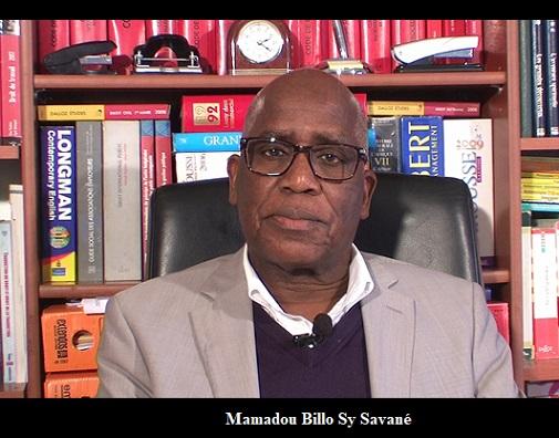 GUINEE / Mamadou Billo Sy savané demande au FNDC de chasser Alpha Condé du pouvoir.