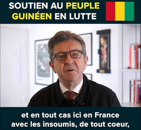 SOUTIEN AU PEUPLE DE GUINEE EN LUTTE ( JEAN-LUC MELENCHON)