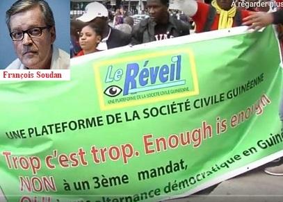 Le mercenaire de la plume François Soudan continue de sévir ( Le réveil )