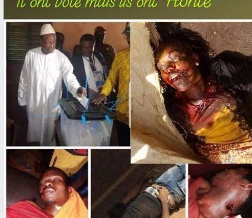GUINÉE / La stratégie ethnique du trio Alpha Condé, Mohamed Diané et Amadou Damaro Camara suit dramatiquement son chemin. 7 peuls victimes d'exécutions extrajudiciaires ce dimanche 22 mars 2020.