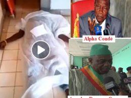 N'zérékoré / Les 21 morts de l'ancien président Alpha Condé et du maléfique Amadou Damaro Camara.