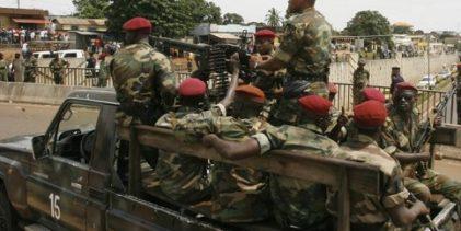 URGENT-GUINEE / Des tirs d'armes automatiques au camp Alpha Yaya de Conakry ce vendredi 20 mars 2020.
