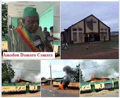 N'Zérékoré / La tension ethnique qui serait alimentée par Amamdou Damaro Camara aurait fait 11 morts.