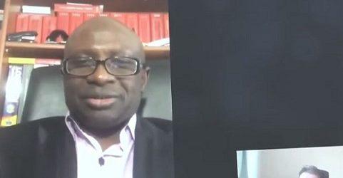 Interview de MAKANERA Ibrahima Sory / Alpha Condé n'est plus un président de la République mais un brigand de la République. Le peuple de Guinée a le droit de résister par tous les moyens possibles même par les armes aux assassins d'Alpha Condé.